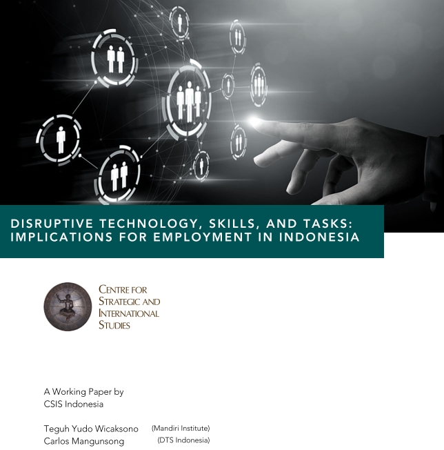 Disruptive Technology, Skills, and Tasks: Implications for Employment in Indonesia